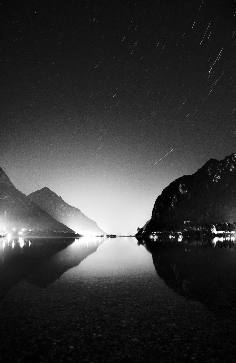 Photograph Experimentation , BW Startrails by Salmen Bejaoui on 500px
