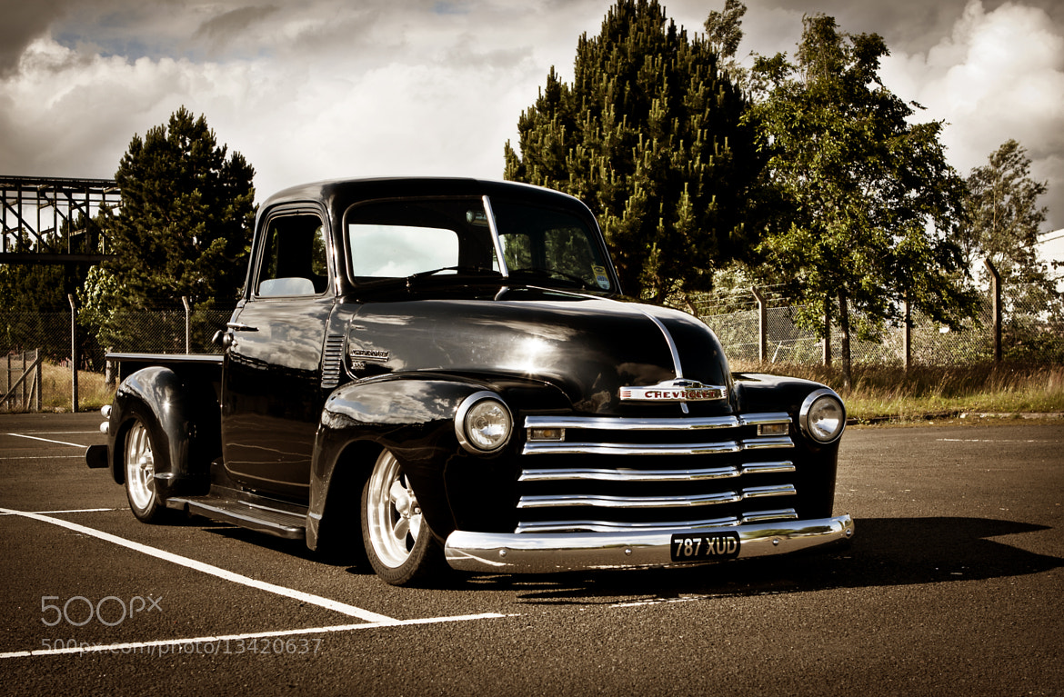 Photograph Chevy pick-up by Kim McDonald on 500px