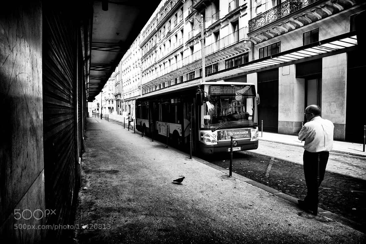 Photograph Waiting the bus by Timothée Taupin on 500px