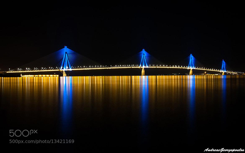 Photograph Rio bridge, Patra by Andreas Georgopoulos on 500px