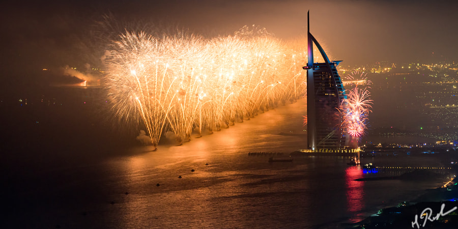 Dubai Firework by Rustam Azmi on 500px.com