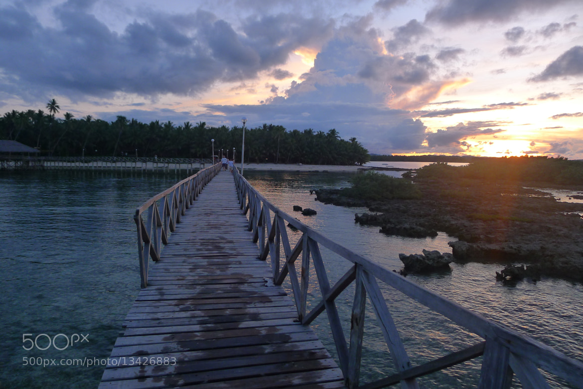 Photograph Siargao's Sunset in Boardwalk by Christian Vincent Literatus on 500px