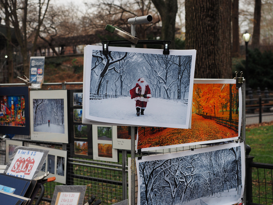 Photo of a Photo of Santa Claus by Nancy Lundebjerg on 500px.com
