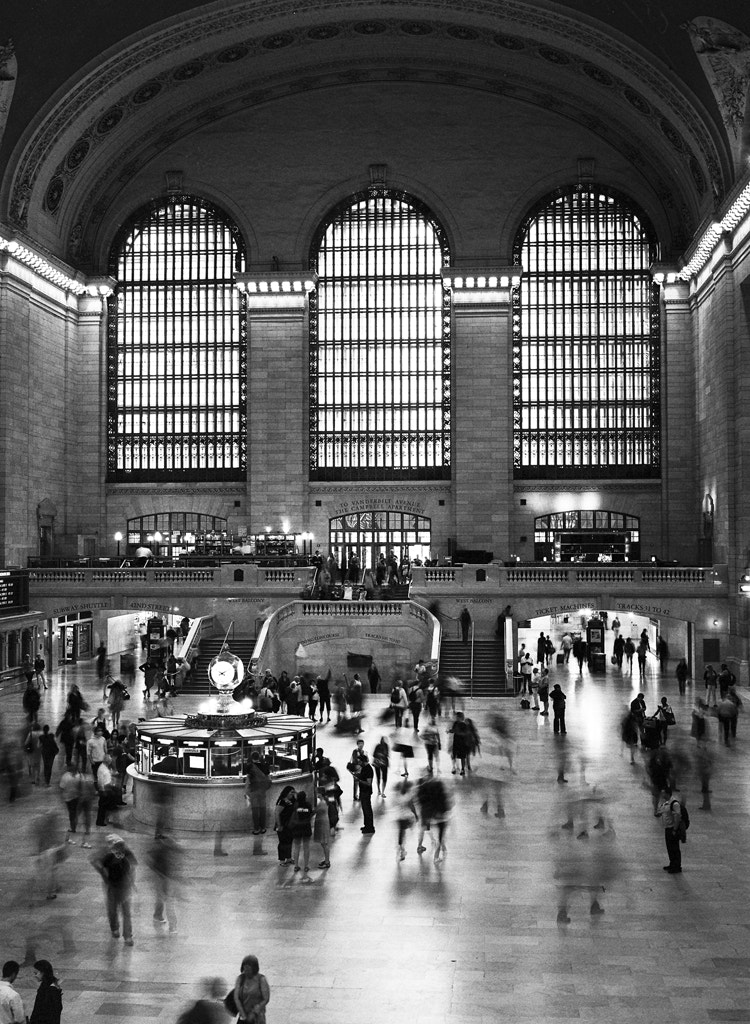Photograph Grand Central Terminal by Matthew Ragen on 500px