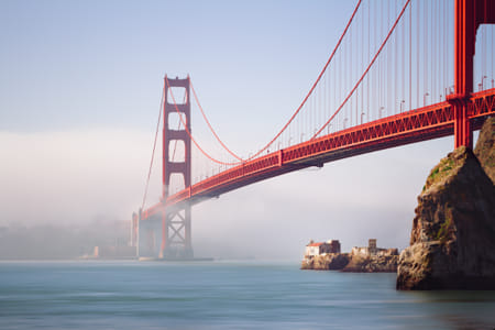 The Golden Gate (bridge) by Janet Weldon on 500px