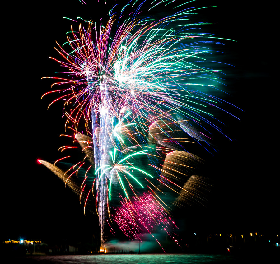 new years fireworks by Paul Molini on 500px.com