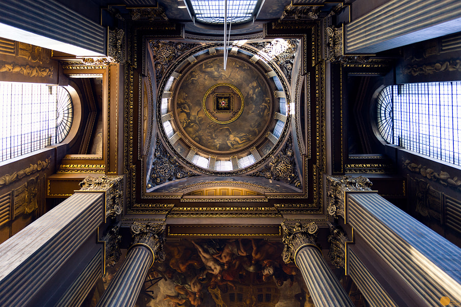 London Painted Hall Ceiling- ORNC by Sagar Mohanty on 500px.com