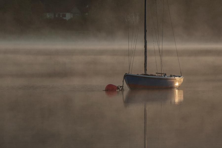Morning light on Yacht