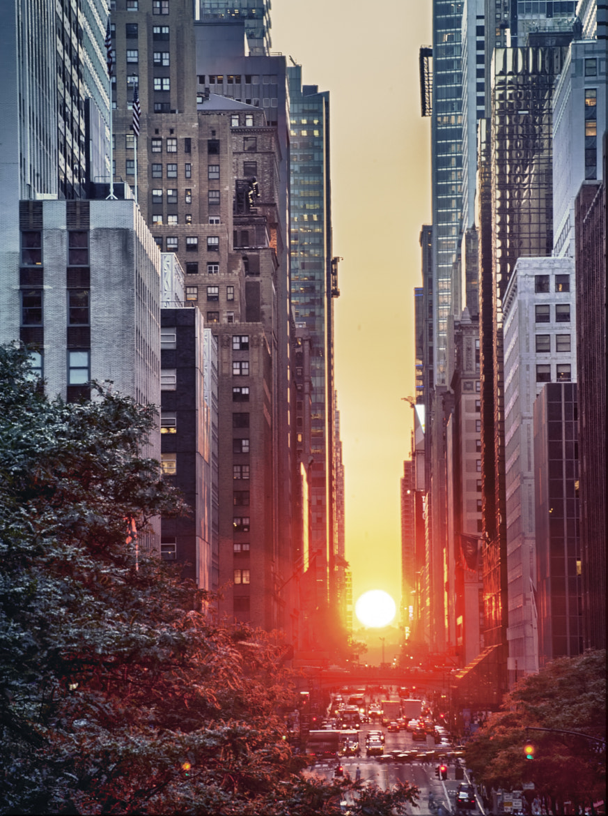 Photograph Manhattanhenge by Gerry Vizcarra Photography on 500px