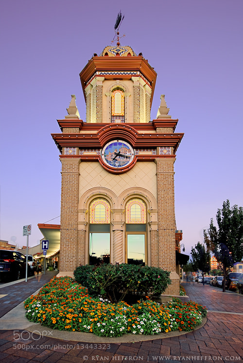 Photograph Clock Tower by Ryan Heffron on 500px