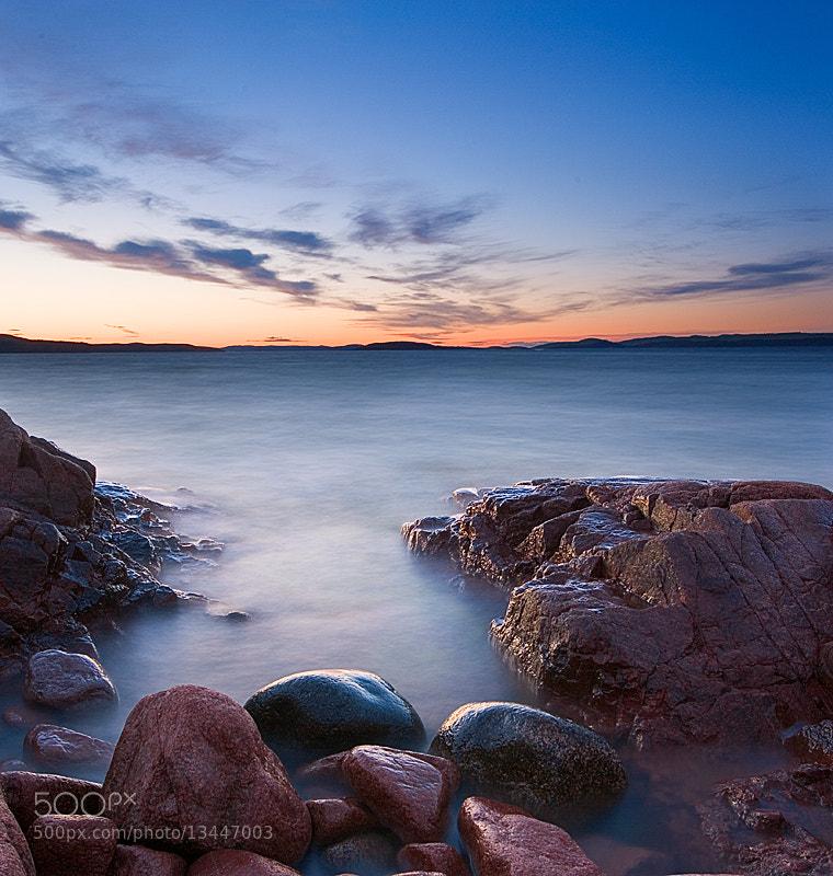 Photograph Midnight cliffs by Peter Sjölund on 500px
