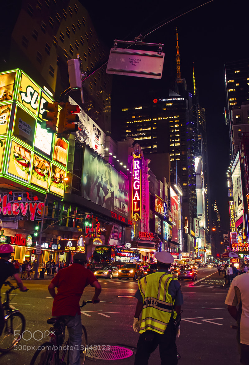 Photograph NYC Nights by Gabriel Masliah on 500px