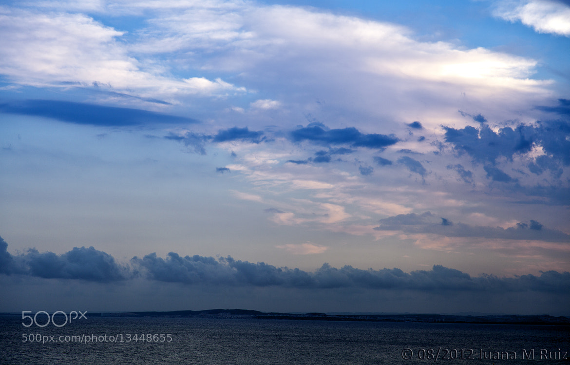 Photograph Sunset in blue by Juana Maria Ruiz on 500px