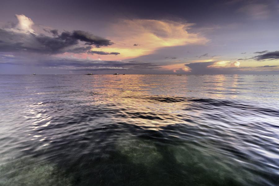 Neon Dusk 1 - Panglao Island, Bohol, Philippines