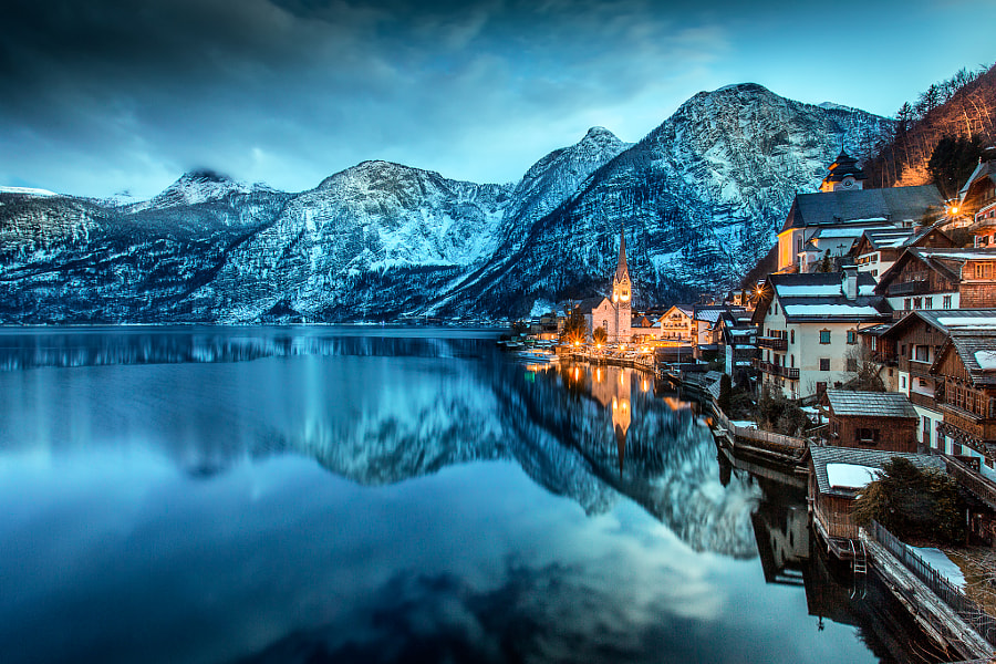 Winter time in Hallstatt by Adnan Bubalo on 500px.com