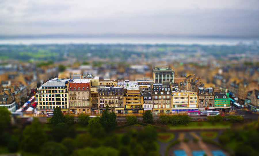 Miniature Edinburgh by Anish Kharkar on 500px.com