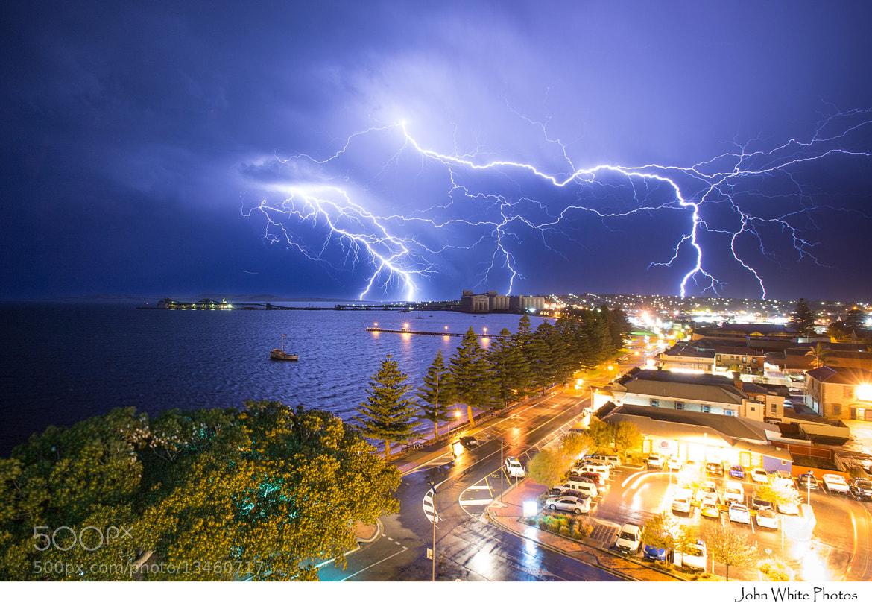 Photograph Lightning Storm by John White on 500px