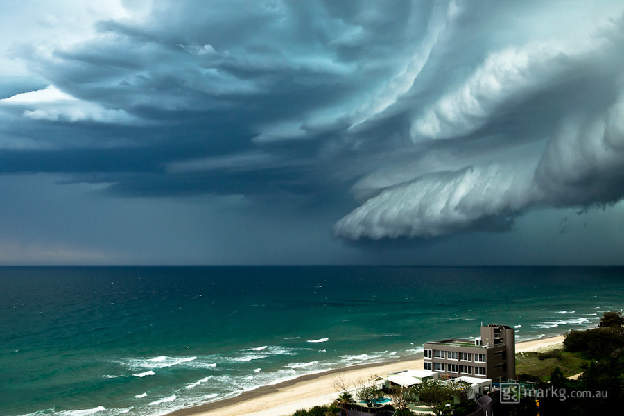 Photograph Main Beach Storm Front by Mark Gee on 500px