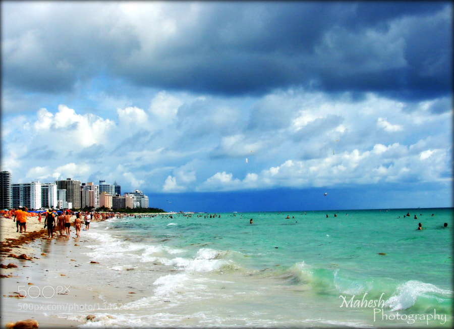 Photograph Miami Beach by Mahesh Krishnamoorthy on 500px