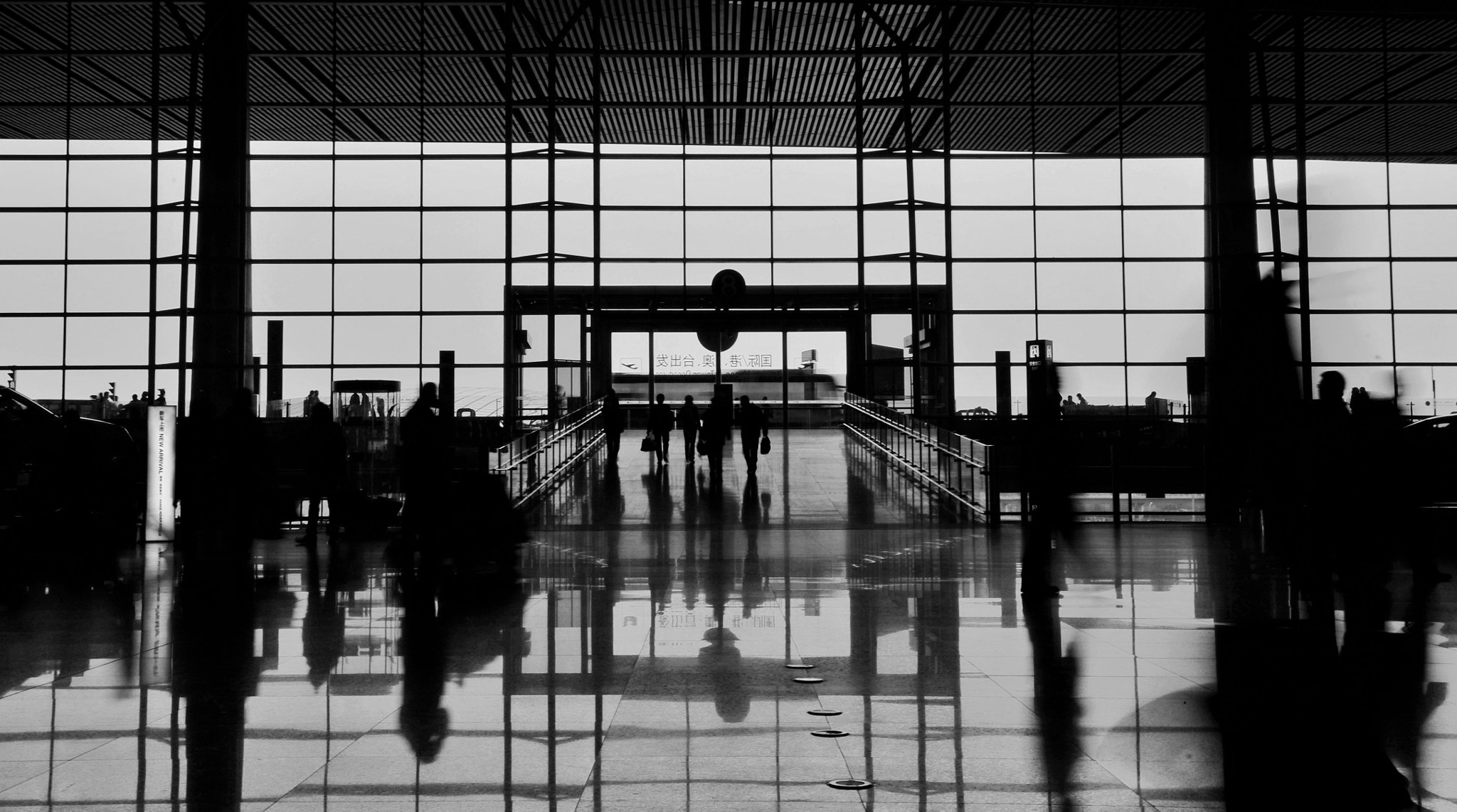Photograph Beijing airport by Kritsana Pinaphang on 500px