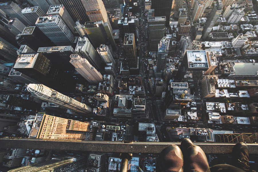 High up by Jon Trend on 500px.com