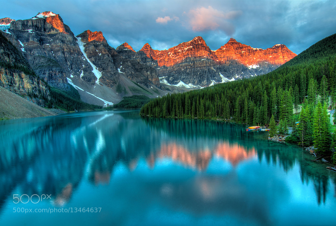 Photograph Moraine Lake Sunrise by James Wheeler on 500px