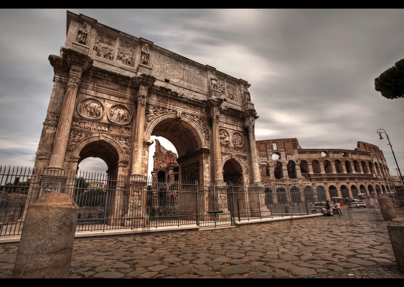 Photograph *Arch of Constantine to Colosseum* by erhan sasmaz on 500px
