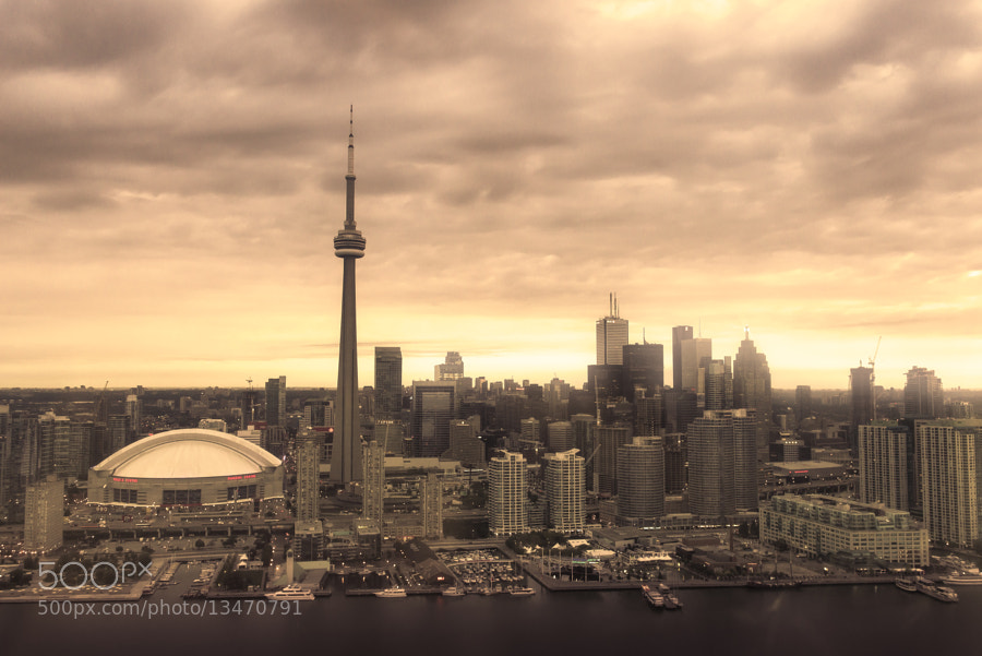 Early morning in Toronto by Evgeny Tchebotarev (tchebotarev) on 500px.com