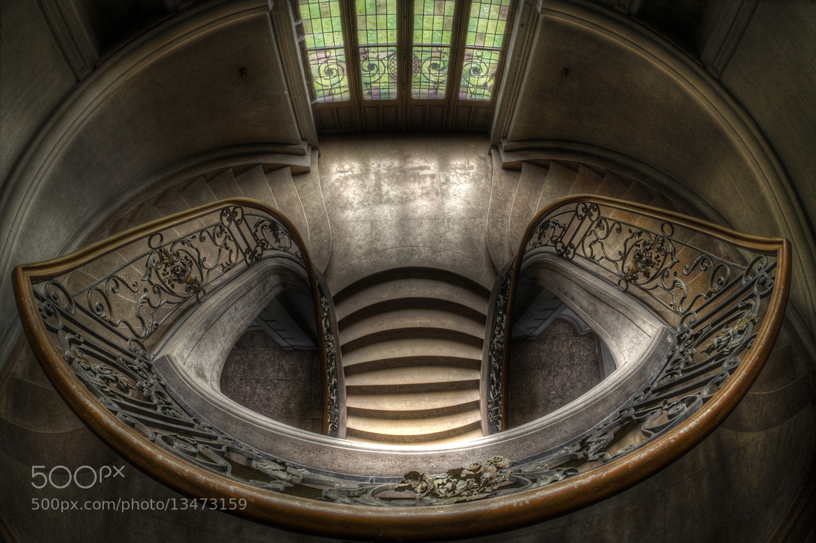 Photograph The main stairs by Olivier NARIBIS on 500px