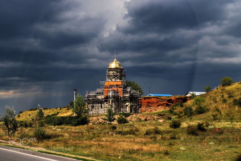 Photograph Orthodox church under construction by Rausch Wilhelm Robert on 500px