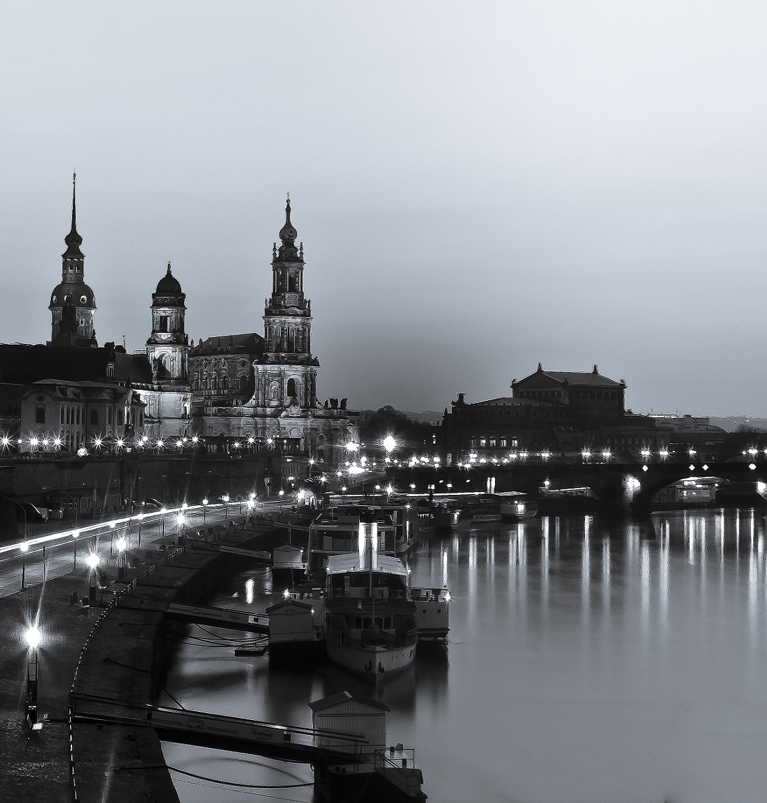 Photograph The dark side of Dresden by Steve Kalisch on 500px