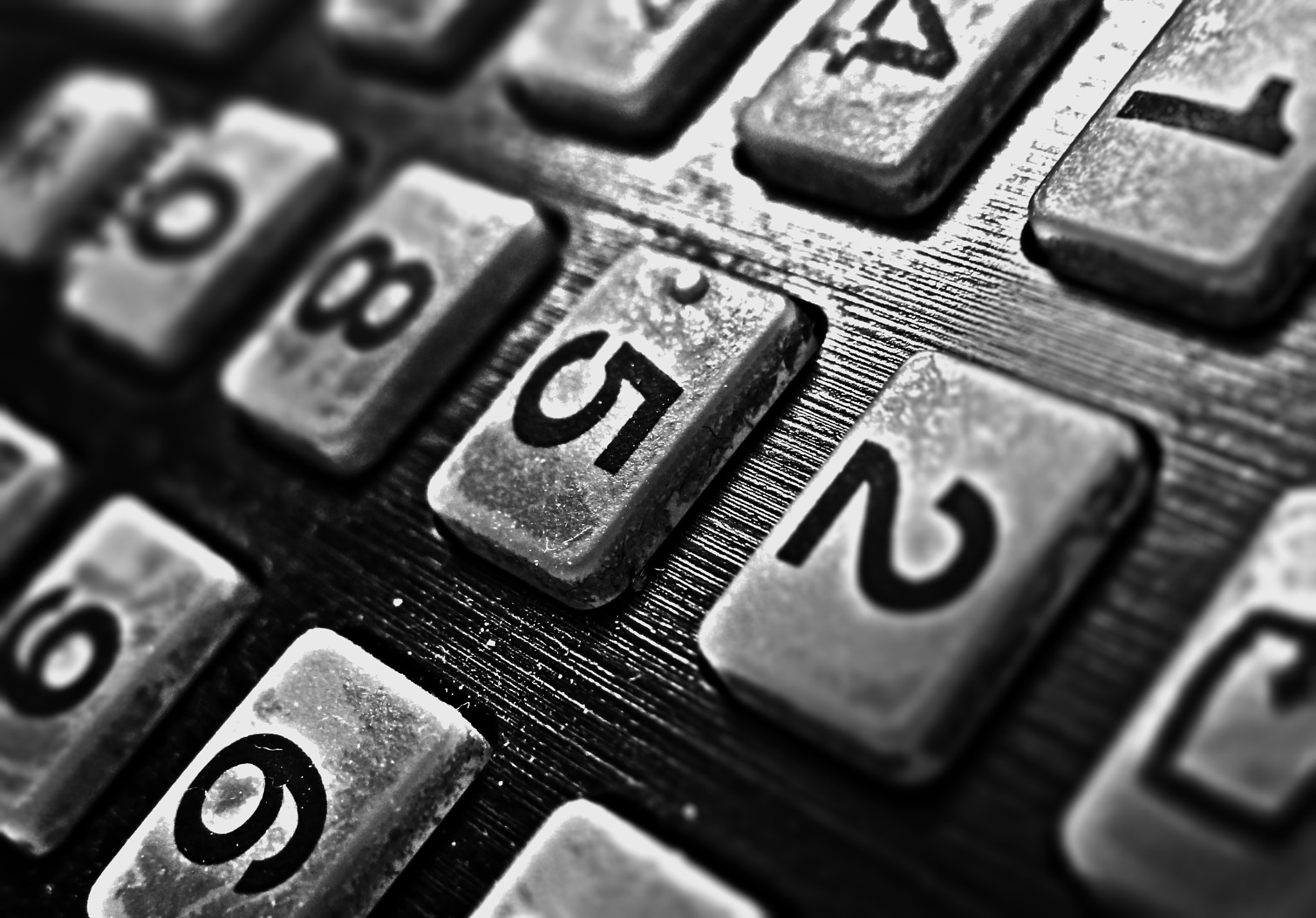 Photograph Numbers - HDR by Akshun Babbar on 500px
