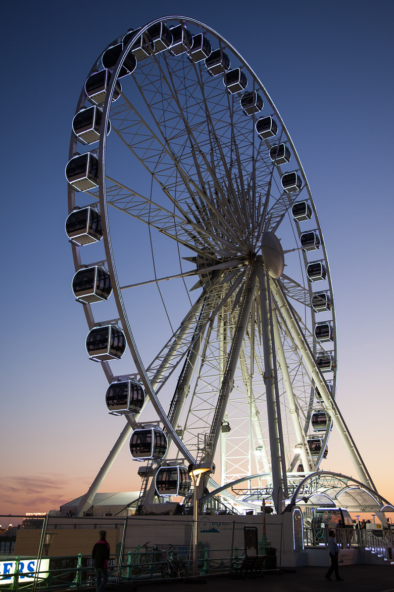 Photograph Brighton Wheel by Andrew Wickens on 500px