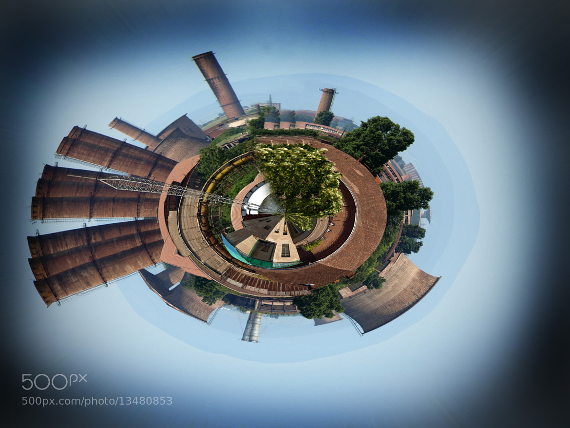 Photograph Industrial planet by paul malaianu on 500px