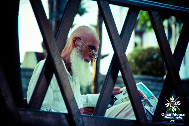 Photograph Old man in News time by Omar Yousif on 500px