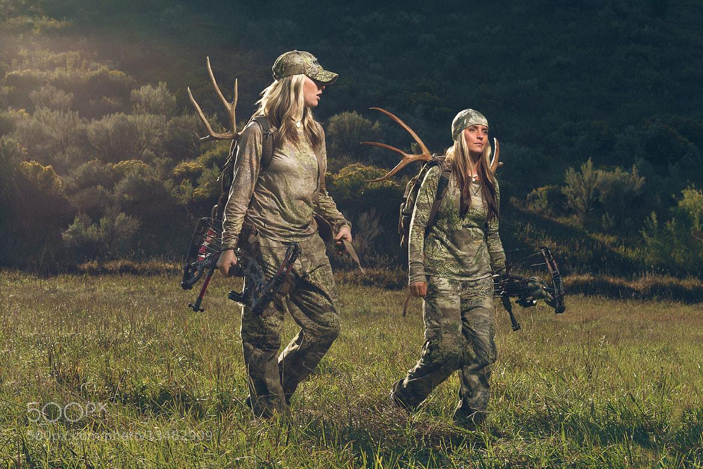 Photograph Bow Hunters Walking by Braxton Wilhelmsen on 500px