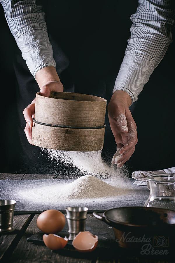 Pasta. Sifting Flour. By Natasha Breen / 500px