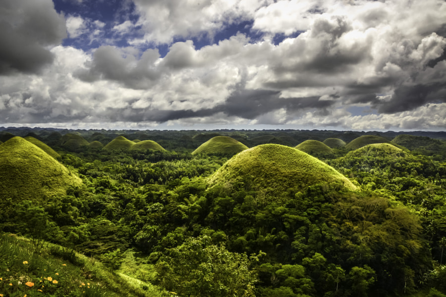 Chocolate Hills Vista - Bohol Island, Philippines