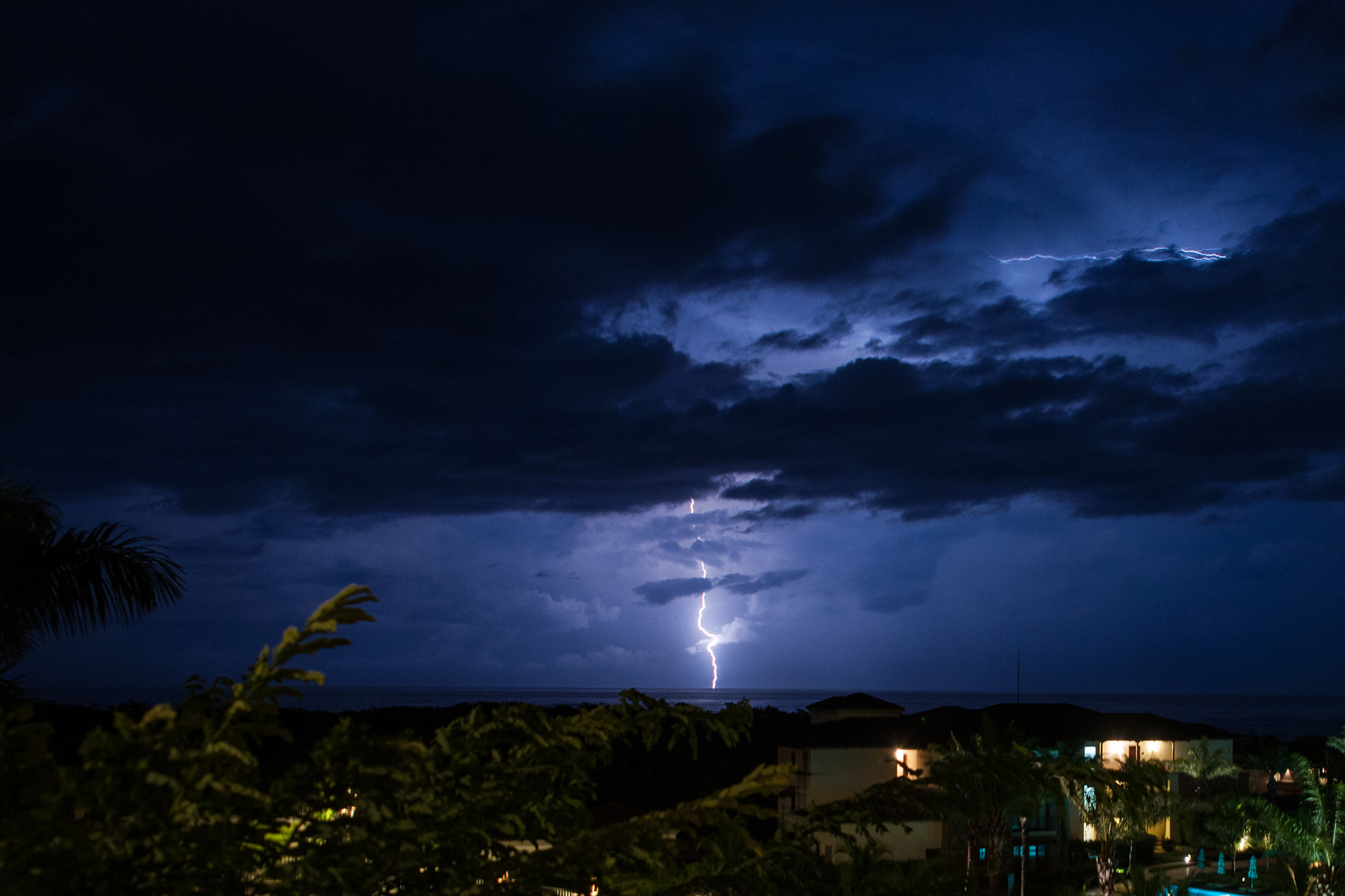 Photograph Guanacaste lightning by Sergio Quesada on 500px