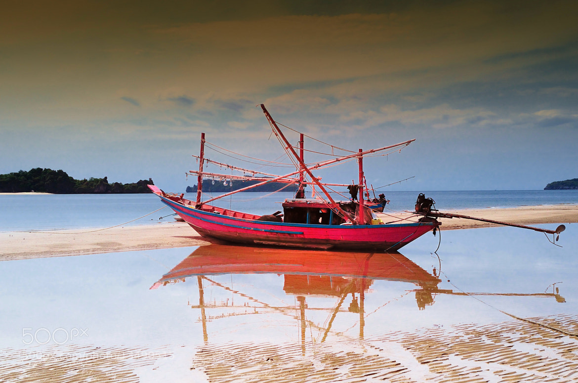Photograph Fisherman boat by Cris T on 500px
