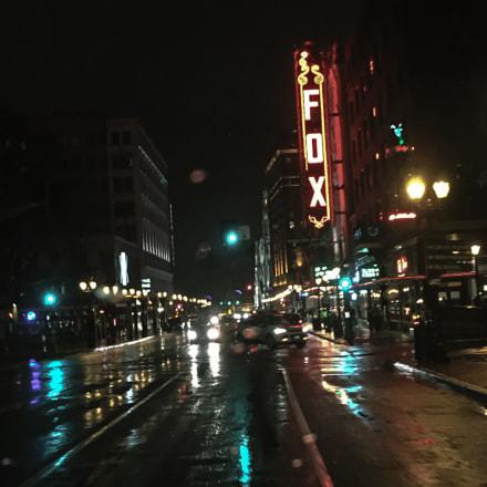 Cold rainy nights