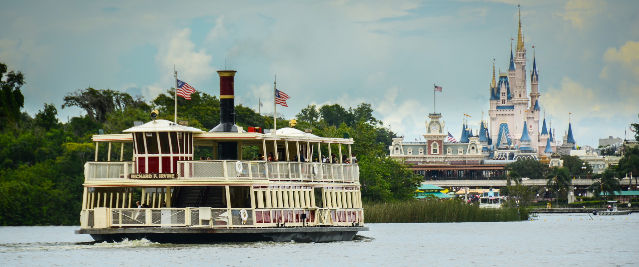 Photograph Ferry to Disney by Frank Corrado on 500px