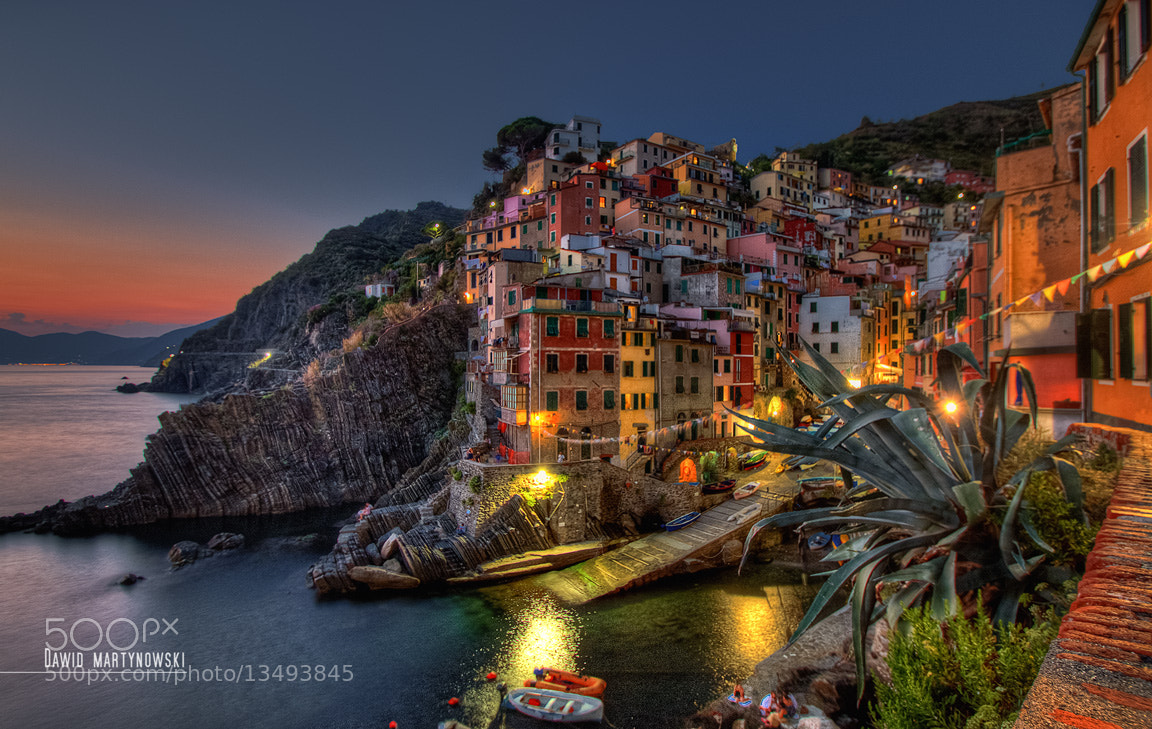 Photograph Riomaggiore, Liguria. by Dawid Martynowski on 500px