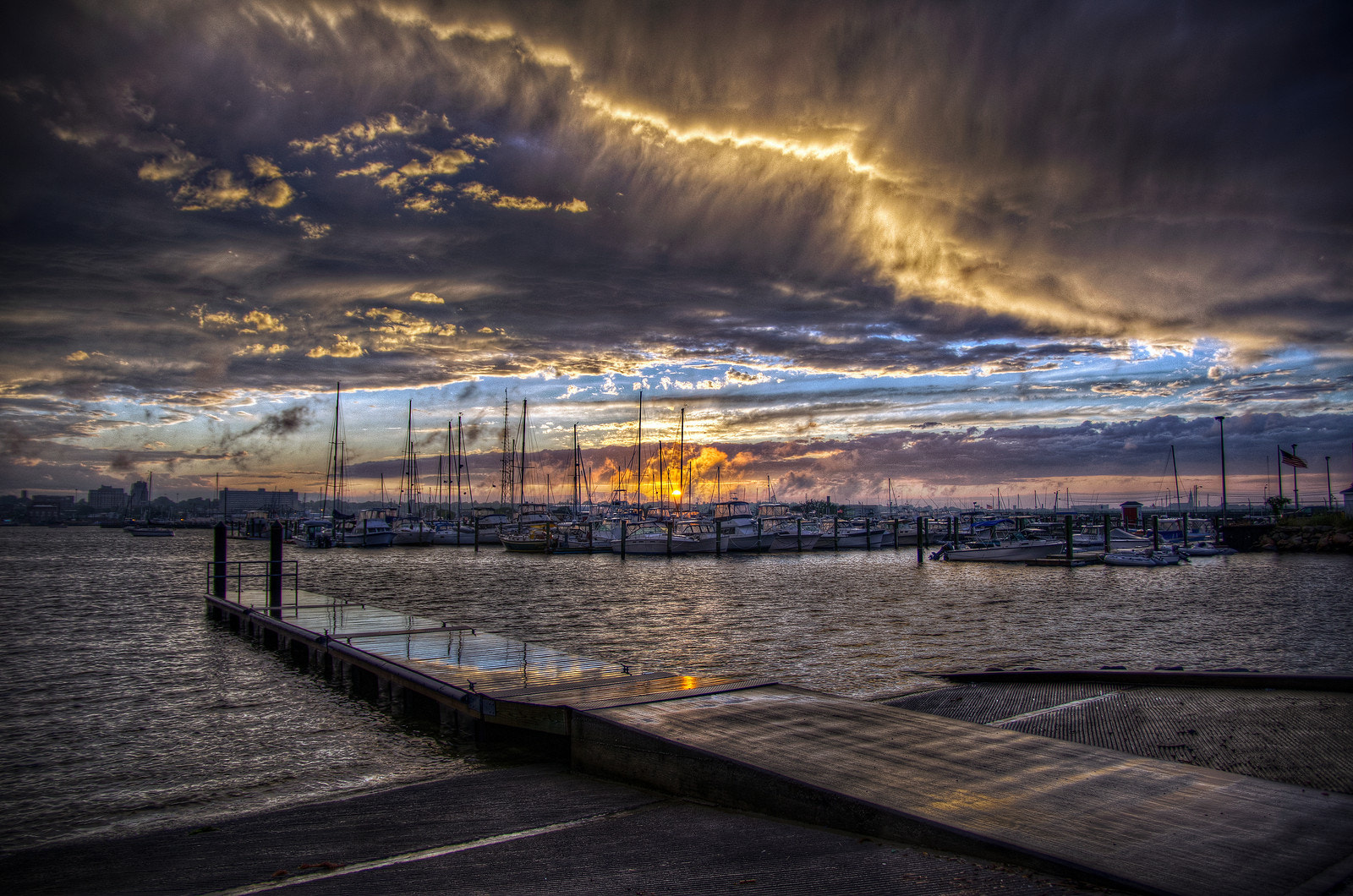 Photograph Sunset After the Storm by Frank Grace on 500px
