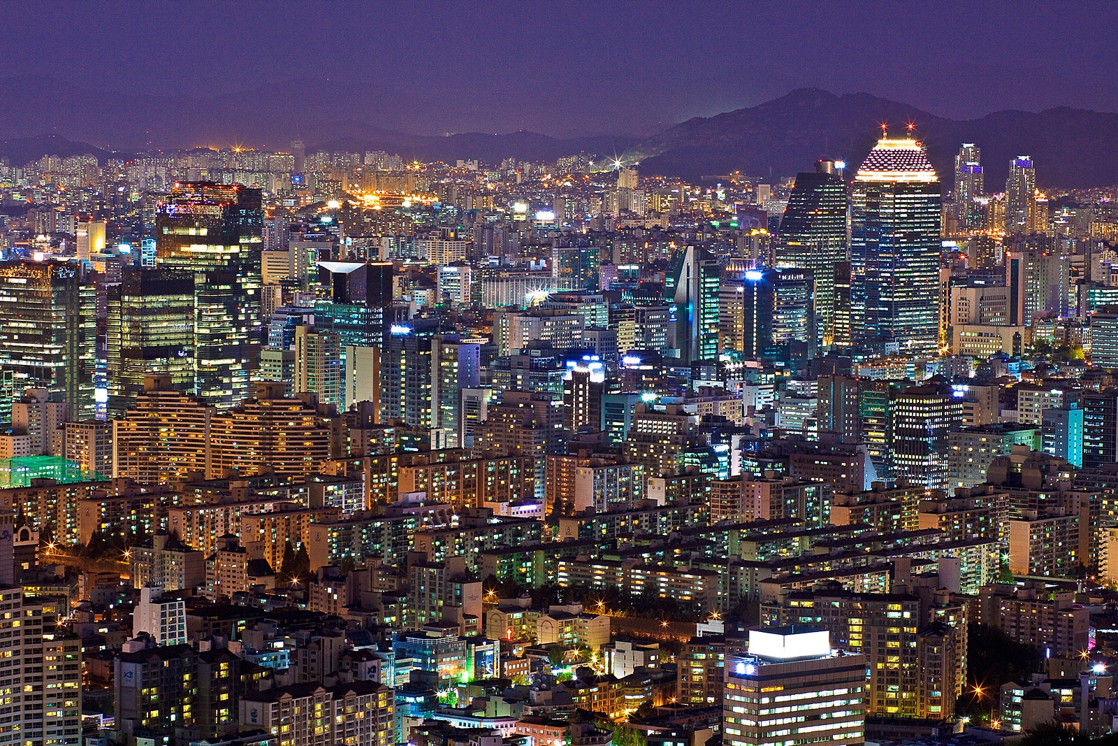 Photograph City at Night by Sungjin Kim on 500px