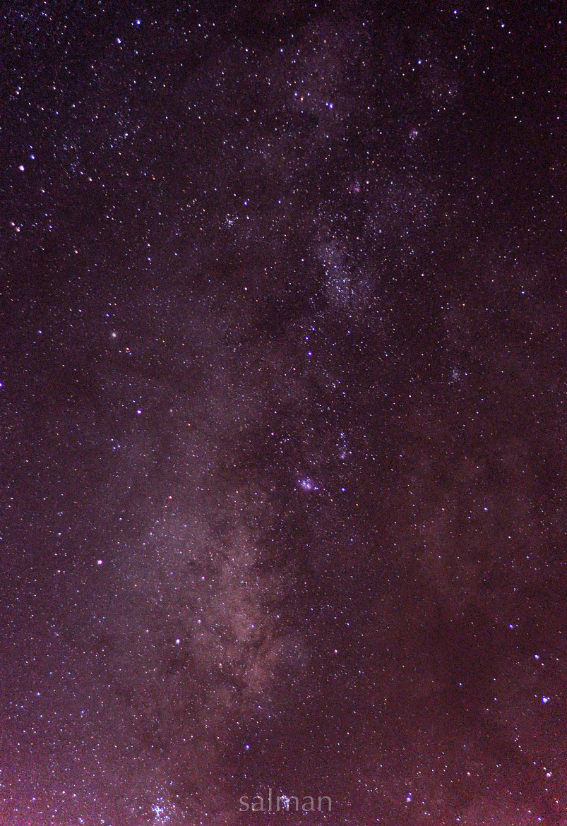 Photograph Milky All The Night by salman sati on 500px