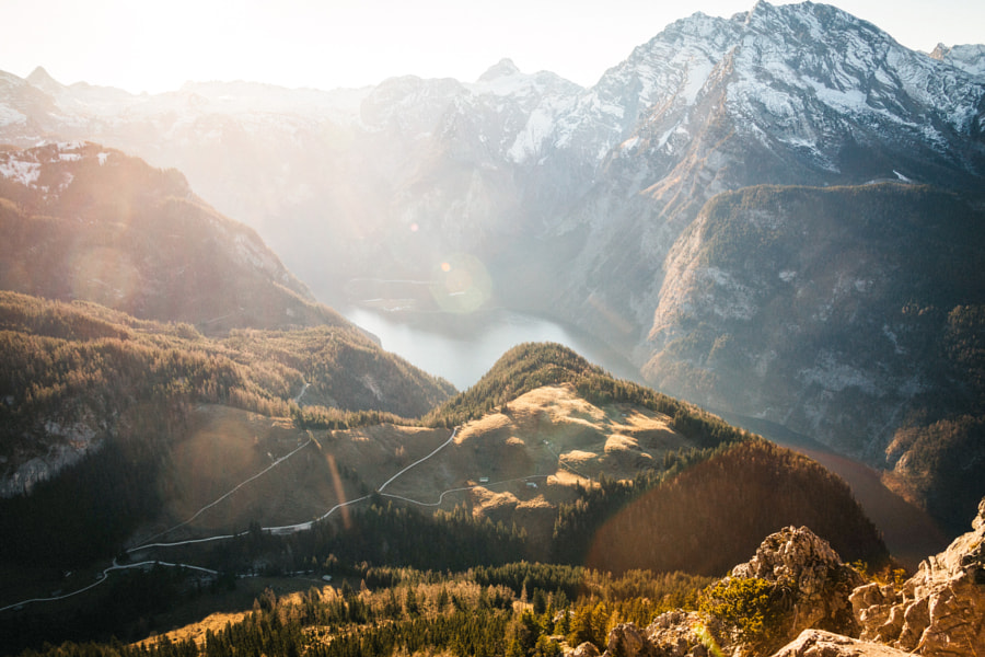 Kings lake from above by Johannes Hulsch on 500px.com