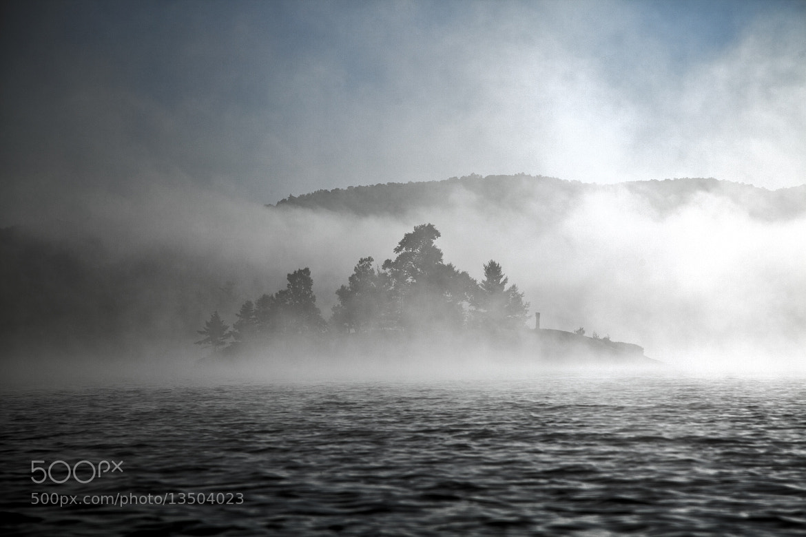 Photograph Rock Island in  Fog by Patty Barker on 500px