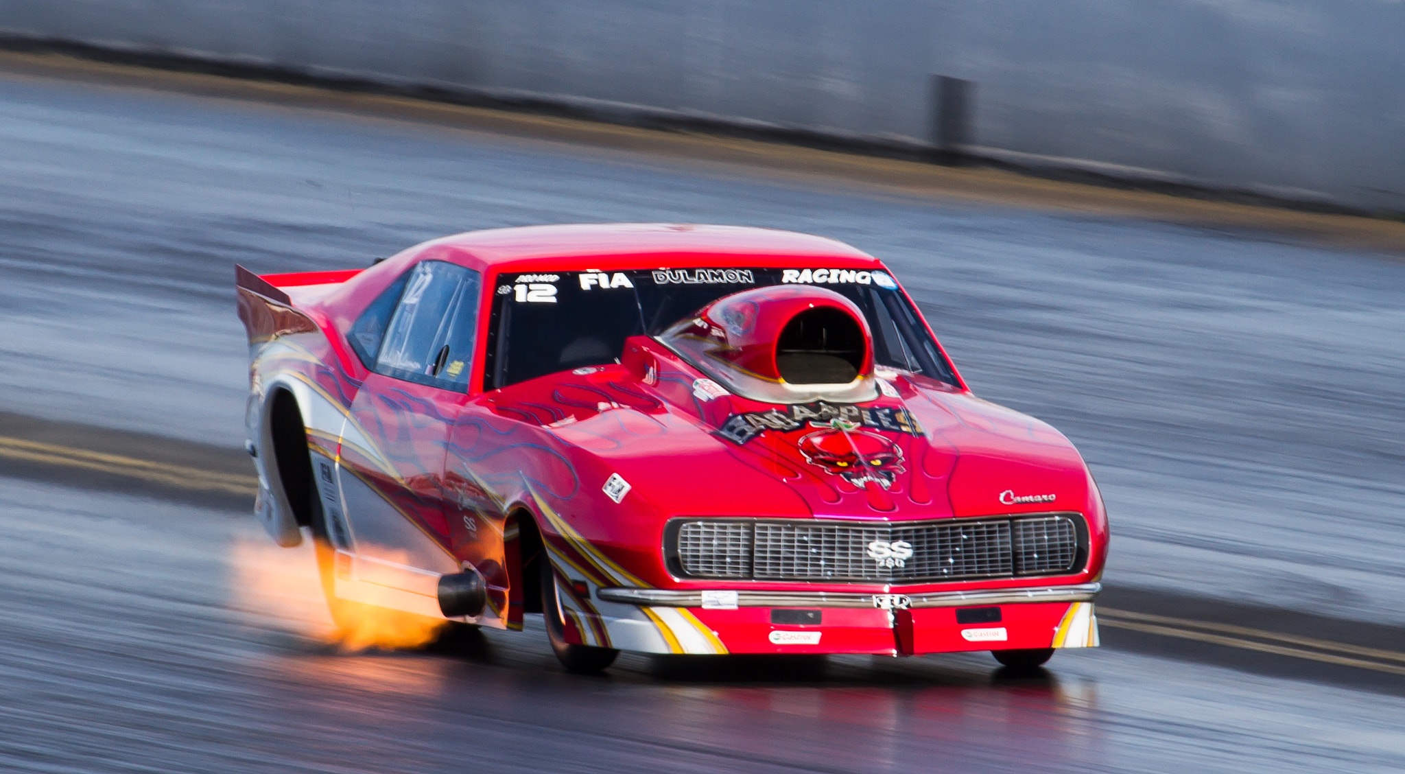 Photograph Santa Pod by Andrew Wickens on 500px