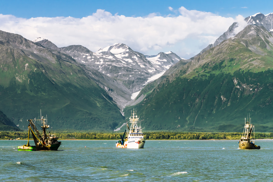 Fishing the Valdez Port by Rodney Murray on 500px.com